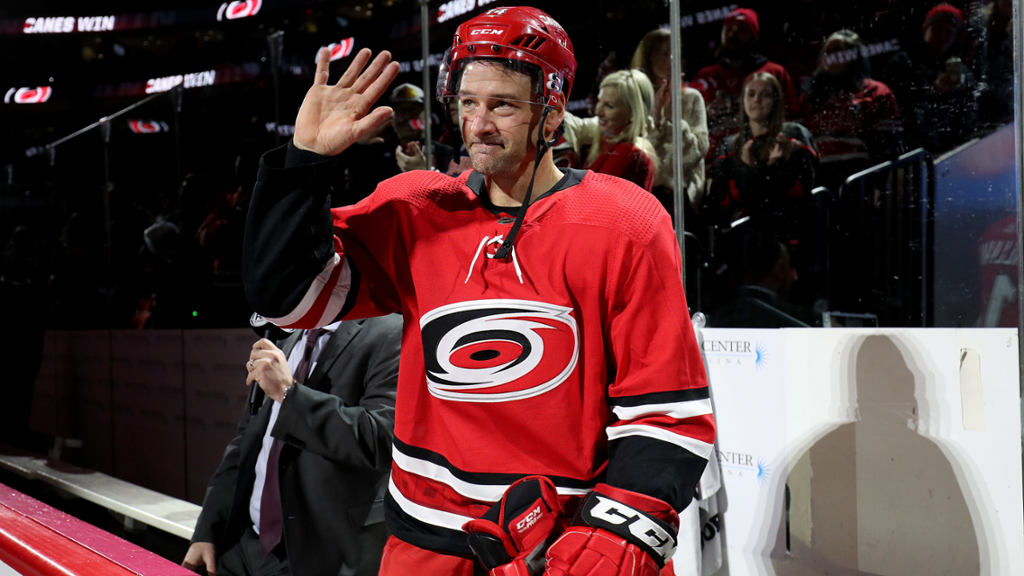 Justin Williams se tornará novo conselheiro especial do Carolina Hurricanes